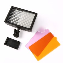 Buy 160 LED Video Light Lamp 1280LM 5600K/3200K Dimmable Canon Nikon DSLR Camera Photographic Lighting for $19.50 in AliExpress store