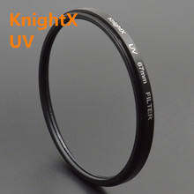 KnightX 52mm 58MM 67MM MC UV Lens Filter UV for Nikon D7000 D5100 D5000 D3100 D3000 nd filter cokin p gopro lens lenses