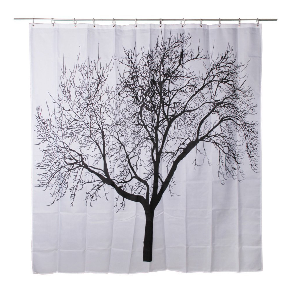 Bathroom Curtain Waterproof Bathroom Fabric Shower Curtain