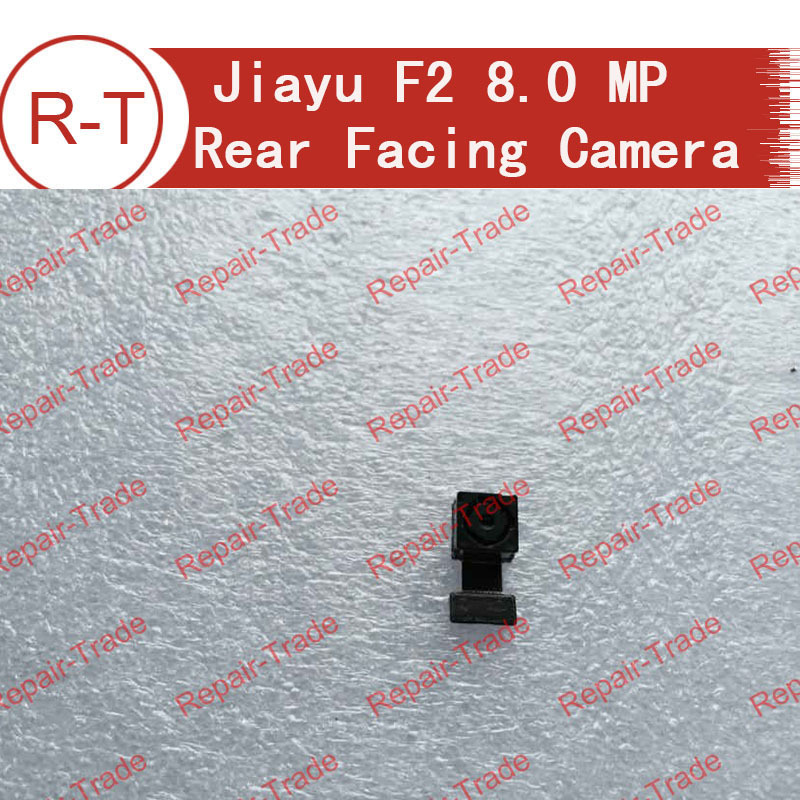 100% original jiayu F2 8.0MP Rear Back Camera Module Flex Cable Replacement for Djiayu F2 Mobile Cell Phone Free shipping
