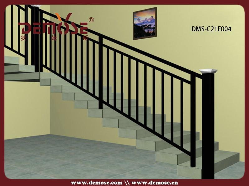 Outdoor Metal Stair Railing Prefab Metal Stair Railing Steel Pipe Stair Ha