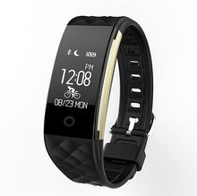 Buy Bluetooth Smart Band S2 Wristband Heart Rate Monitor IP67 Waterproof Smartband Activity Tracker Bracelet Android IOS Phone for $19.94 in AliExpress store