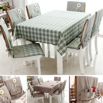 Table cloth small fresh dining table cloth fashion tablecloth rustic cloth