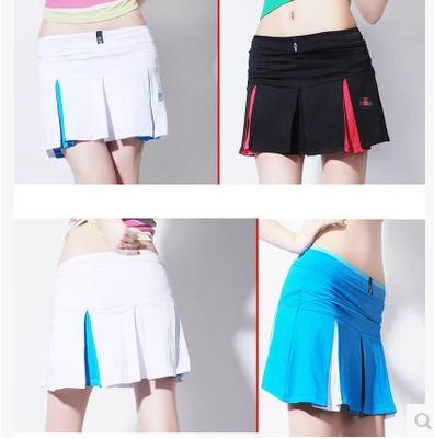 Летом специальные новый теннисные юбки брюки движение юбки-брюки короткие теннис ...