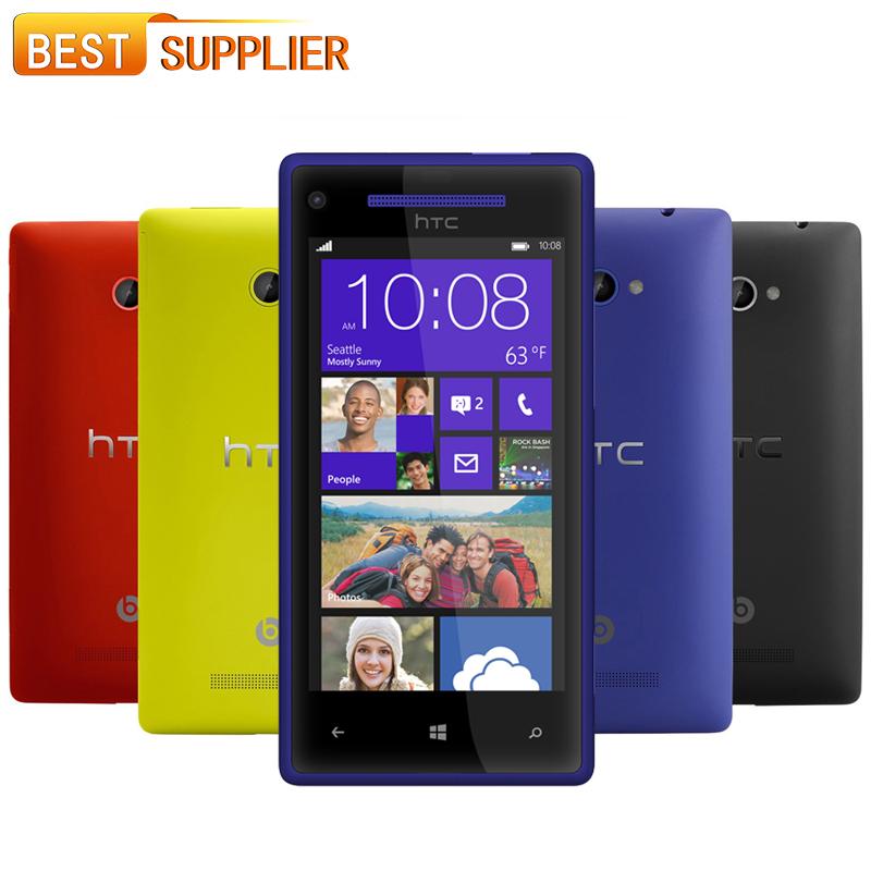 2016 Top Fashion Real Original HTC 8X Windows Phone C620e with 4.3''TouchScreen 8MP GPS WIFI 1GB/16GB Multi-language SmartPhone(China (Mainland))