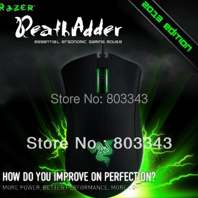 Original Razer Deathadder 2013, 6400DPI,4G Optical sensor, Brand New In box, Fast&Free shipping in Stock(China (Mainland))
