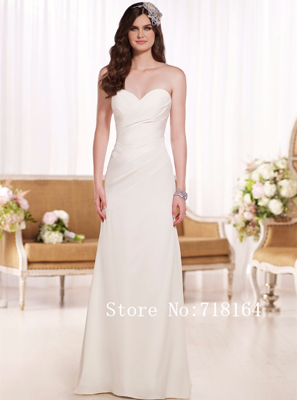 Boda barato viste canad cuadros for Cheap wedding dresses made in china