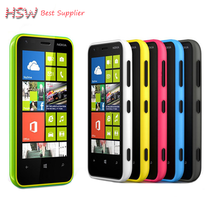 2016 Direct Selling Unlocked original Nokia Lumia 620 Windows cell Phone 8 Dual-core 1GHz 8GB Camera 5MP Wifi GPS Cellphone(China (Mainland))