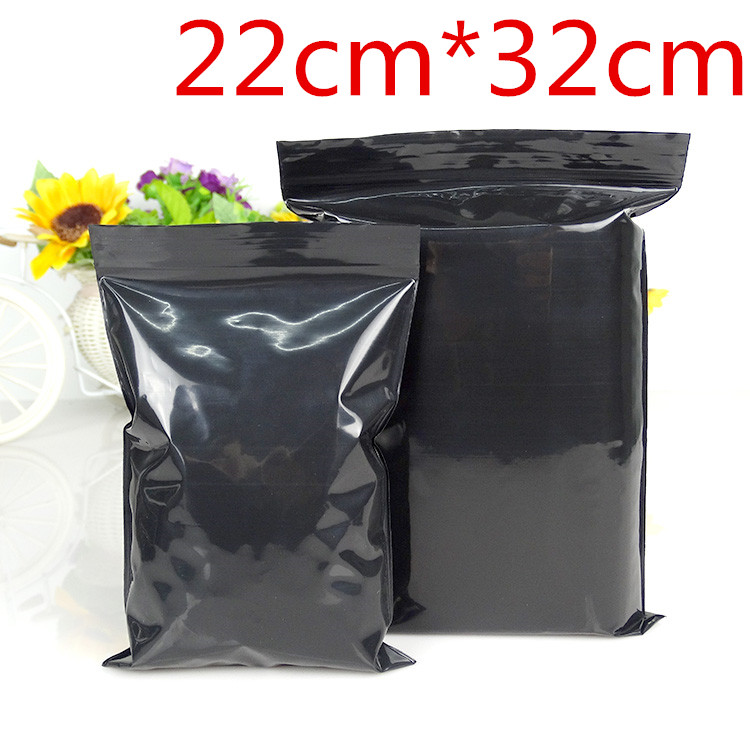 22cm*32cm 50Pcs/Lot Black Valve Zipper Grip Seal Retail Packing Pack Bag Ziplock Pouches Zip Lock Reclosable Poly Storage Bags(China (Mainland))