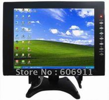 """Free Shipping 12"""" vga monitor , 12inches pc monitor , 12-inch touch monitor , car vga touch monitor(China (Mainland))"""