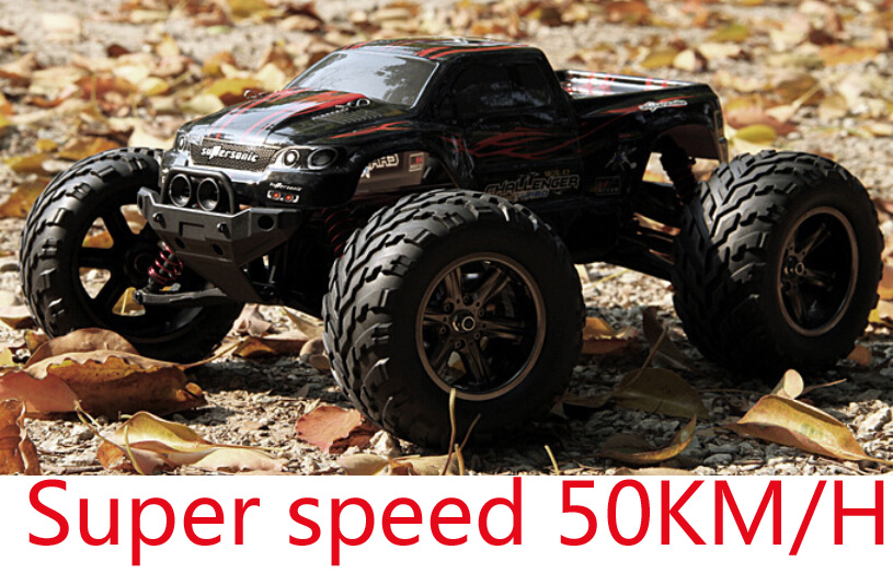 Hot Big RC Car 2.4G 1:12 Scale 50KM RC RTR Monster Truck Off-road Car RTR(China (Mainland))