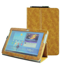 Buy Tab 2 10.1 (2012 old model) P5100 Folio pu leather book cover flip case Samsung Galaxy Tab 2 GT P5110 P5113 Tablet for $9.31 in AliExpress store