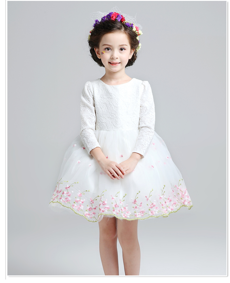 Vestidos de fiesta con encaje para ninas