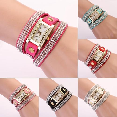 New Arrival 2015 Luxury Brand Fashion Watch Women Lady Crystal Quartz Dress Watch Wristwatches Promotion Gift