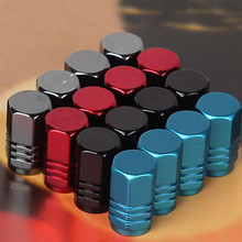 4Pcs/lot High quality Universal Auto Bicycle Car Tire Valve Caps Tyre Wheel Ventile Air Stems Cover Airtight rims Accessories(China (Mainland))