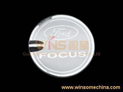 STAINLESS STEEL FUEL/OIL/GAS TANK COVER/CAP FOR FORD FOCUS(SEDAN)2005,FOCUS(HATCHBACK) 2009,FOCUS(SEDAN) 2009(China (Mainland))