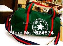 HOT!Free Shipping 2014 Brand Designer High Quality Canvas Sport Bag Gym Bags,F