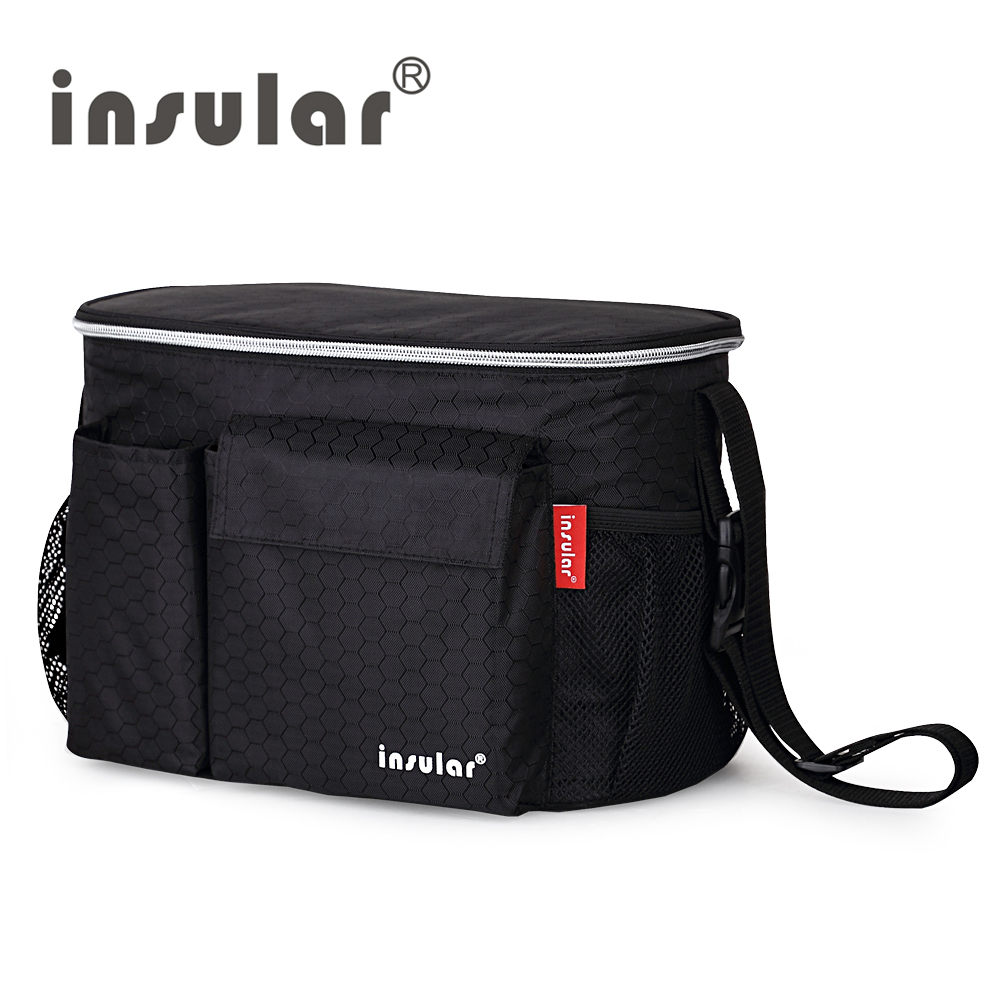 Thermal Insulation Mommy Bags Waterproof Baby Diaper Bag Stroller Cooler Bag For Stroller Free Shipping