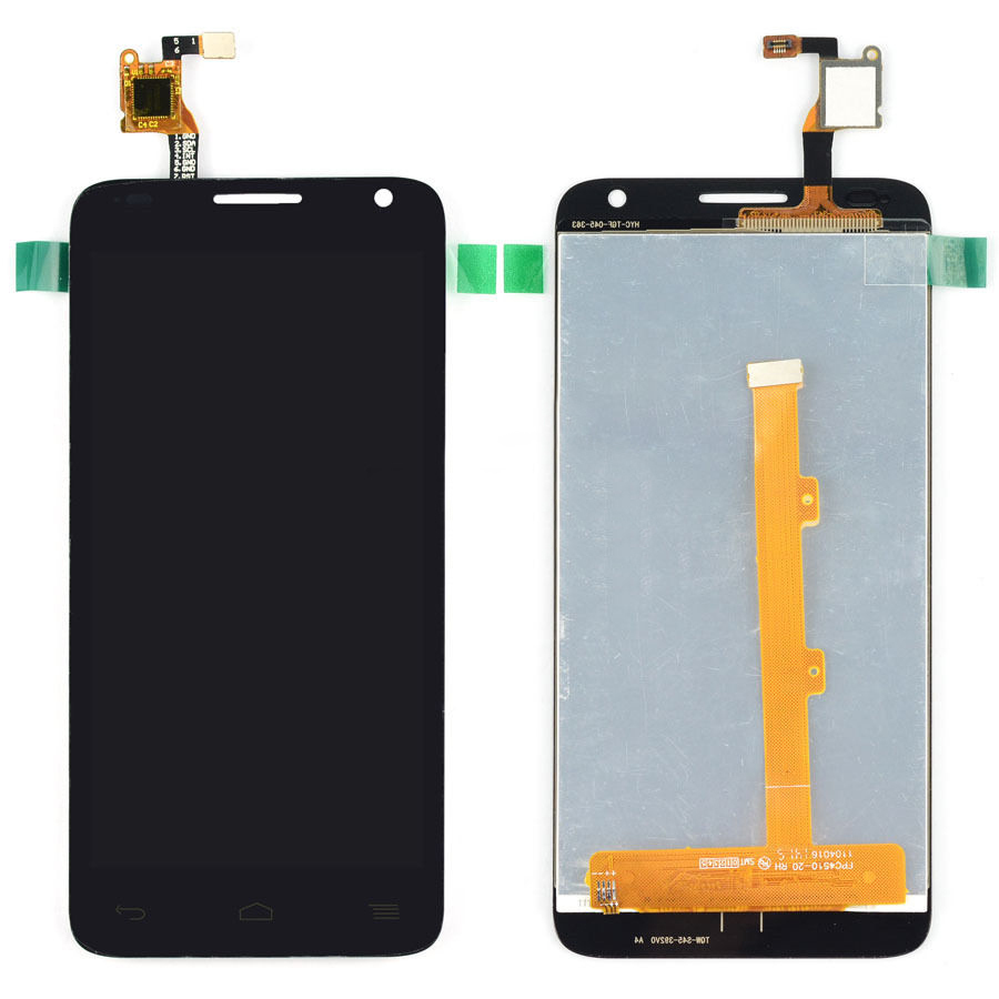 Black LCD Display + Touch Screen Digitizer Assembly For Alcatel One Touch Idol 2 Mini S OT6036 6036 6036Y Free Shipping