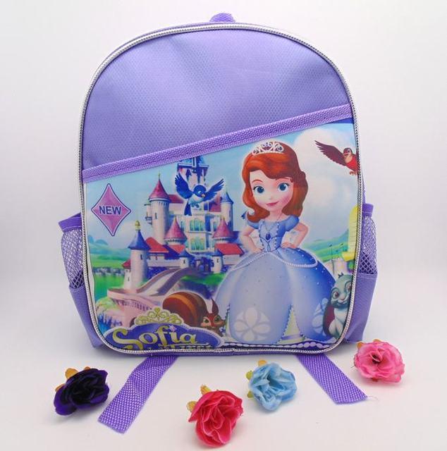 2015 сладкие милые мультфильм принцесса софия детский сад мешок школы дети девушки ...