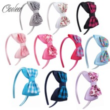 Buy 10pcs/lot Cute Grosgrain Ribbon Bowknot Girls Hairbands Kids Hair Bows Headbands Headwear Hair Accessories for $10.60 in AliExpress store