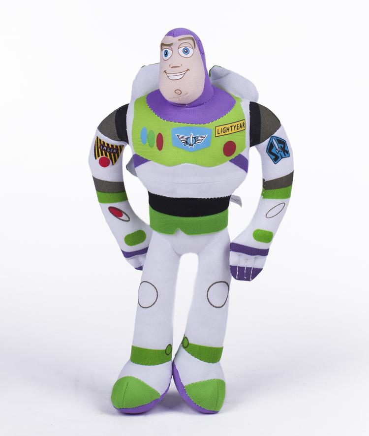 "Toy Story 3 Buzz Light Year Plush Toys Plastic Toys Dolls 12"" 30CM Story Buzz Lightyear Soft doll stock(China (Mainland))"