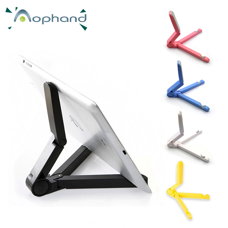 Hot Sale New Version Foldable Adjustable Stand Bracket Holder Mount For iPad ASUS <font><b>Samsung</b></font> Pad <font><b>Tablet</b></font> PC Mobile Phone Holder