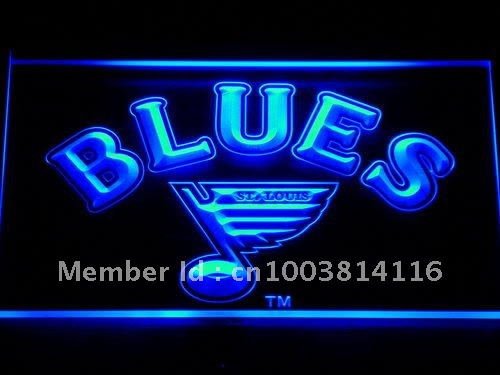 528-b Blues Bar Pub LED Neon Light Sign(China (Mainland))