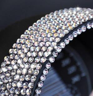 Sparkling car stickers rhinestone stickers diamond paste diy crystal stickers decoration supplies refires personality
