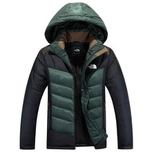 new arrival winter fashion mens down coat brand men's white Down jacket M--3XL(China (Mainland))
