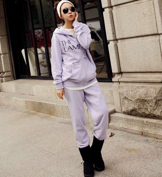 Sweatshirt set pki 2013 new arrival female sports set casual set