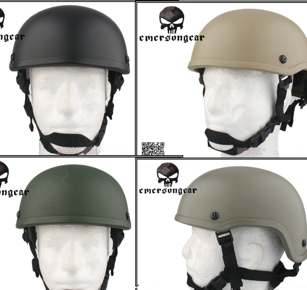 Emerson Airsoft ACH MICH 2001 Tactical Helmet EM8976 4 kinds of color choice, the wholesale price(China (Mainland))
