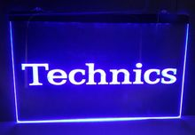 Buy technics logo 2 size new NR beer bar pub club 3d signs led neon light sign home decor crafts for $12.59 in AliExpress store