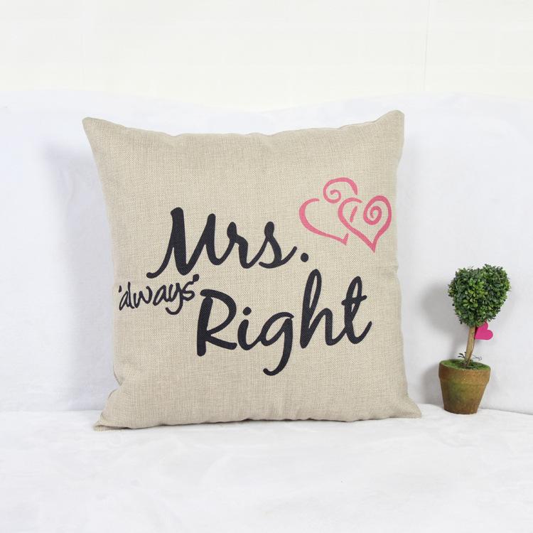 43cm*43cm Home Decoration Vintage Cotton Linen Simple Pillowcover Cushion Cover Pillow Case Pillowcase Sofa/Bed/Cars Covers - HANGZHOU LEABETTER SHOP store