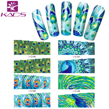 HOTSALE C017 Flowers Butterfly design women Nail Sticker DIY Manicure Women Nail Sticker Decoration For nail art supplies