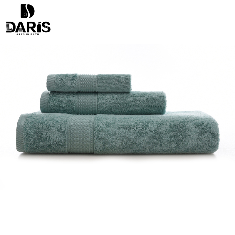 SDARISB 3 PCS Cotton Body Hand Face Bath Towel Sets Sport Kitchen Towel Adult Swimming Towels Luxury Gift Quality Home Textile(China (Mainland))