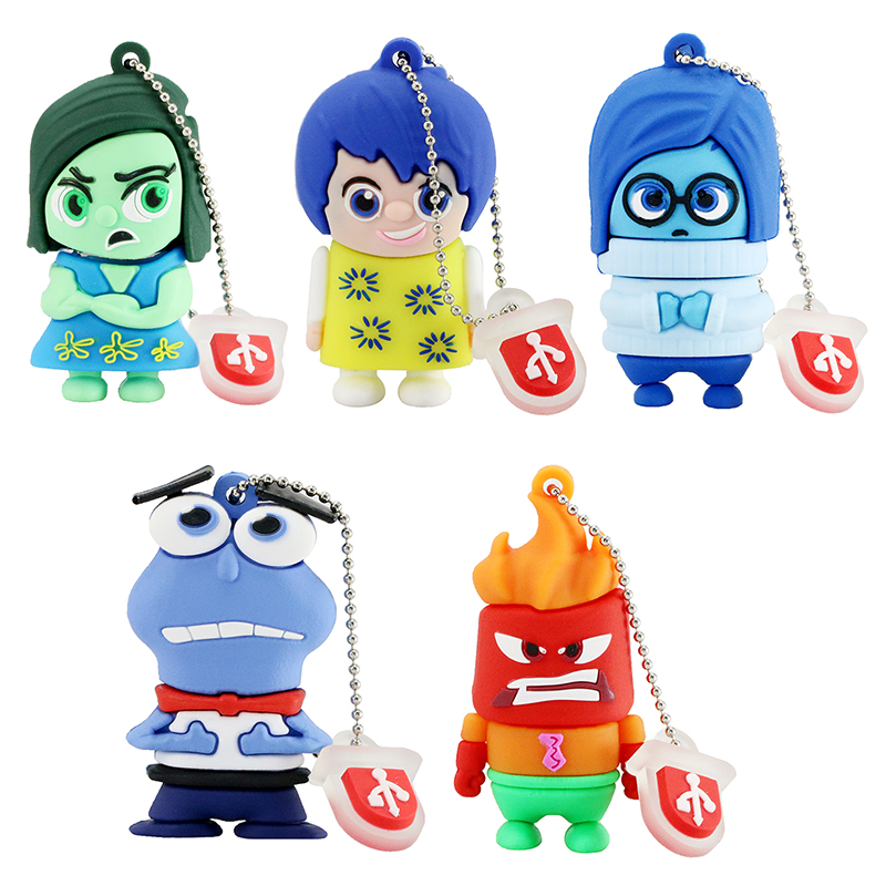 usb flash drive Inside Out 32GB Pen Drive 16gb Pendrive 8gb Flash Card Memory Stick Drives 64GB Disk on key Free shipping(China (Mainland))