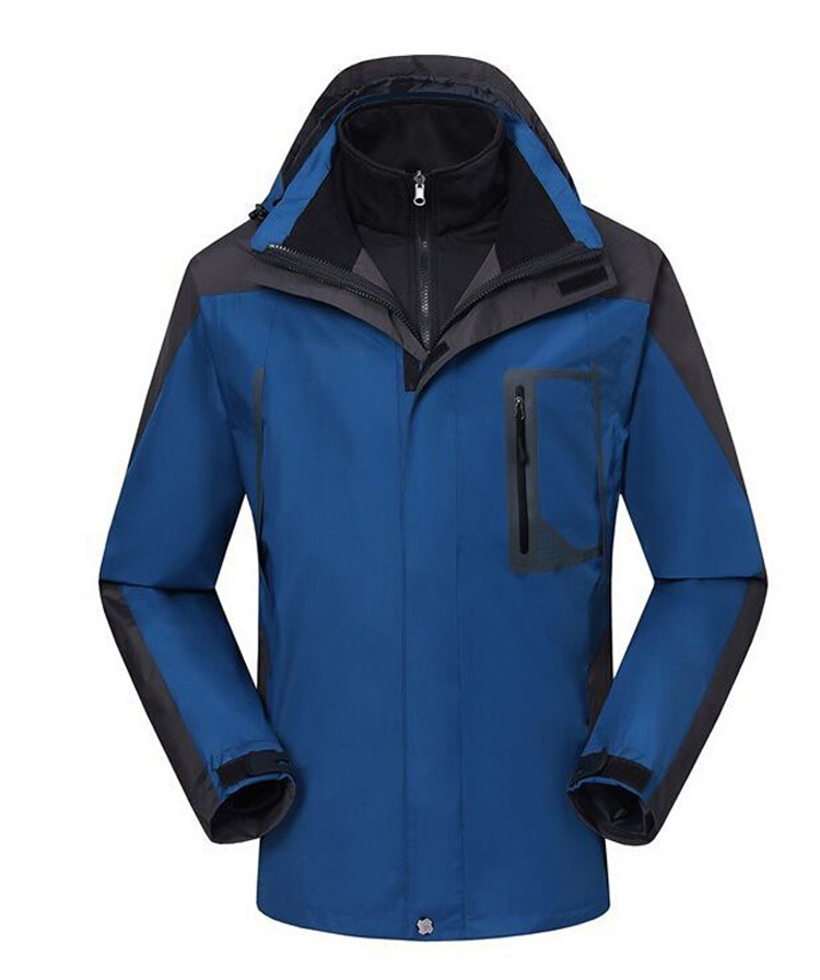 Men outwear 3in1 waterpoor windproof breathable soft shell waterproof jacket coat sportwear for camping hiking fishing cycling<br><br>Aliexpress