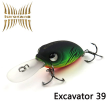 Hight Quality Brand Crank Lure 39mm/4.8g E39 Floating Artificial Lures Crankbait Hard Fishing Bass Lure Excavator Bait