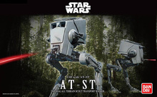 2015 New Genuine Bandai 1:48 Scale Star Wars AT-ST imperial all terrain scout transport walker Plastic Model Building DIY Toys (China (Mainland))