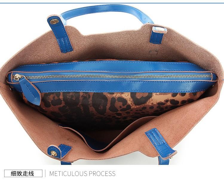 Women Oil Waxing Leather Handbags New Designer Fashion Ladies Shoulder Bag Cowhide Women Daily Bags Large Capacity Shopping Bag