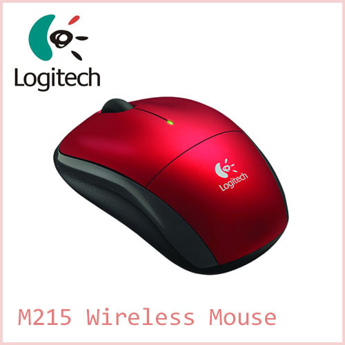 Logitech M215 2.4Ghz Wireless Optical Mouse for PC Laptop Computer NANO Receiver Free Shipping(China (Mainland))