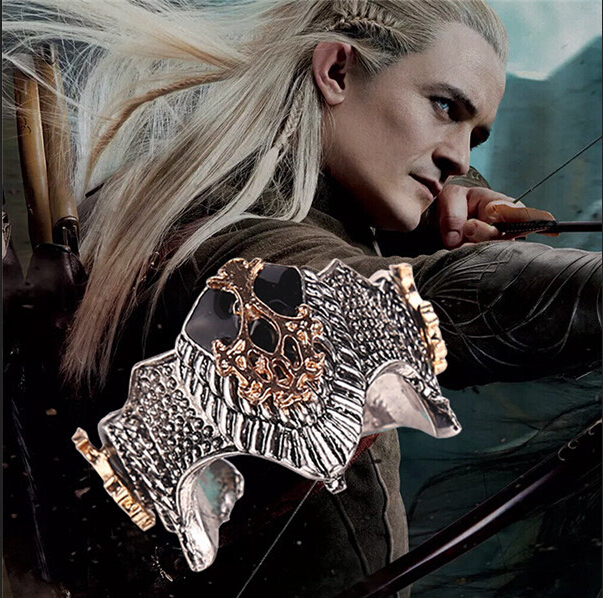 The Hobbit ring The Lord of the Rings Aragorn Crown Ring For Men Fashion Jewelry Ring High Quality Movie Jewelry 12pcs/lot(China (Mainland))