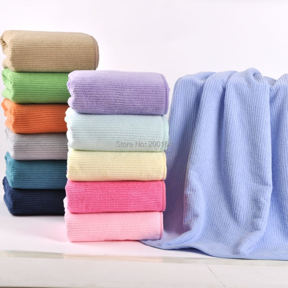 MMY Brand 1pc Microfiber Magic Towel Solid Adult Beach Towel Plain Compressed Spa Swimming Towel Colorful Bath Towels 120025(China (Mainland))