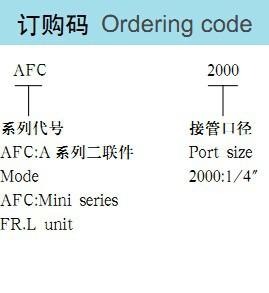 пневматические части воздушного источника лечения единица давления Регулятор масло/вода разделения afc2000