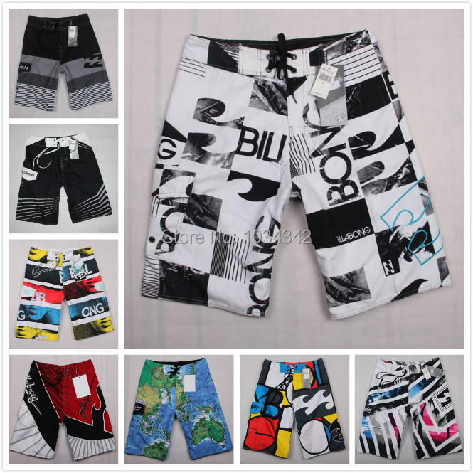 Men's Shorts Mens Summer Beach Surf Swim Sport Swimwear Men Boardshorts Man gym Board Short Pants 2015 Quick Dry Bermuda Silver(China (Mainland))