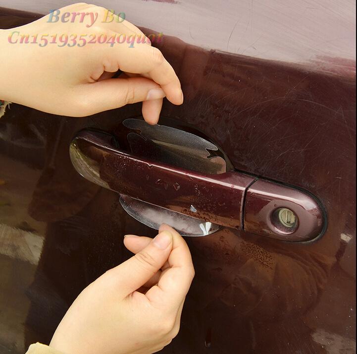 Car Handle Protection Film for Chevrolet Lacetti Lova Sail EPICA Malibu Volt Camaro Astro(China (Mainland))
