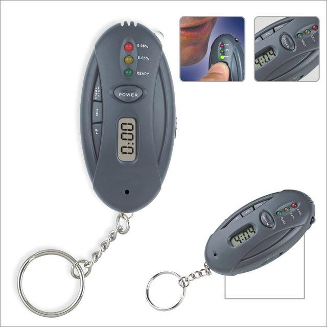 Keychain alcohol tester alcohol portable single