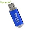 CARPRIE New Portable USB 2 0 Adapter Micro SD SDHC Memory Card Reader BU Mar9 MotherLander