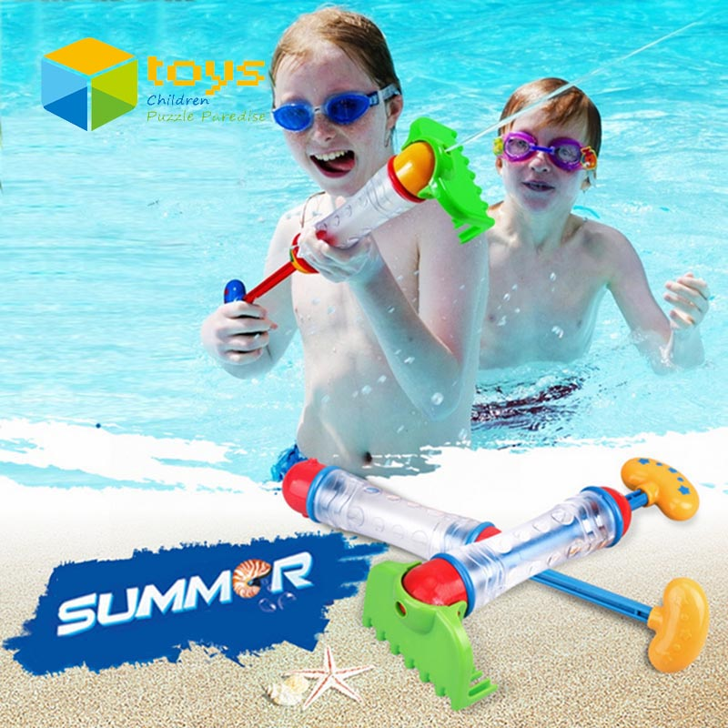 Baby Bath Toys for Children Kids Swimming Pool Sand Set Water Beach Toys Spraying Cannon Gun Water Fight Blaster Rake Shovel(China (Mainland))